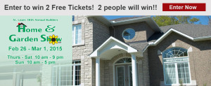 Win Two Free tickets to the St. Louis Home Show 2015!